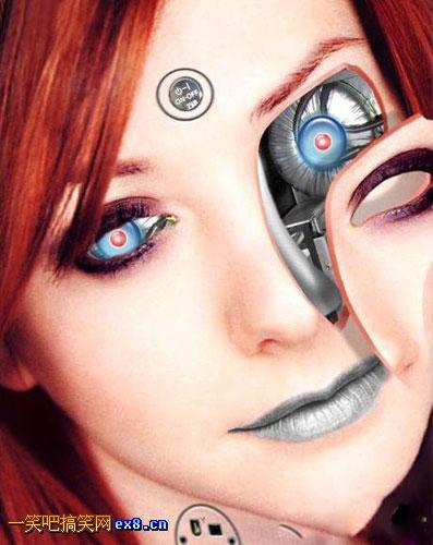 男人恶搞美女漫画_性感的机器人美女图片_好看的图片_TuPian1