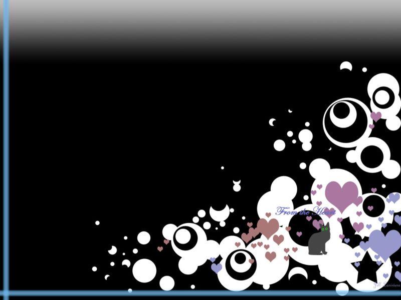 3d立体小人油漆刷心背景图片,ppt图片 51ppt模板网