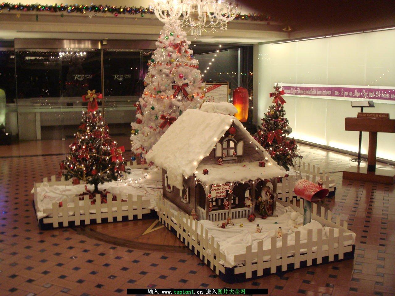 圣诞节装饰方案素材图片