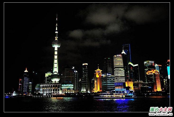 拍摄技巧_好看的上海滩夜晚风景_风景图片_TuPian1
