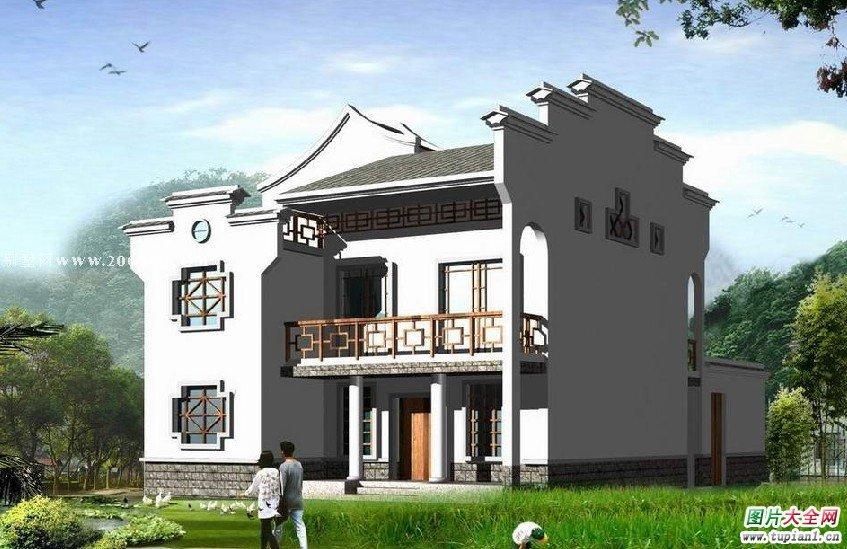 图大全新农村庭院设计图农村别墅庭院设计图农