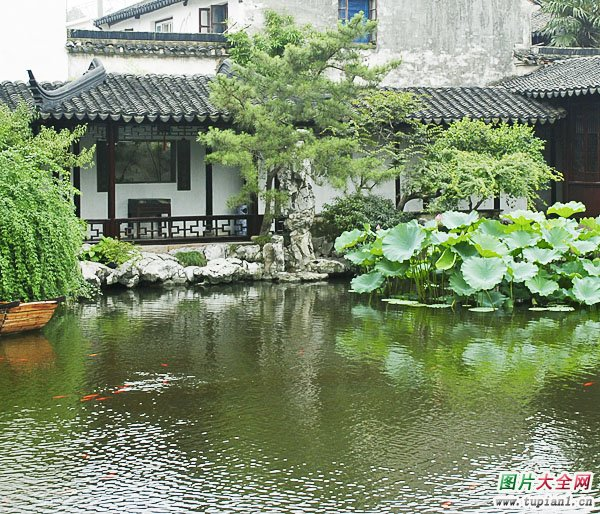 动态风景优美的地方_苏州园林古民居风光(2)_风景图片_TuPian1