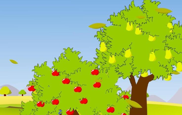 图画_秋天的一幅画图画大全  三年级秋天的图画-过一次秋天_儿童插画