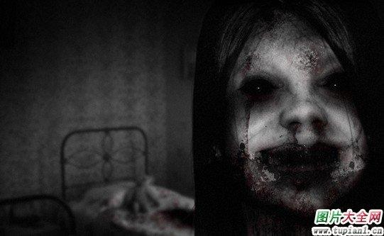 史上最吓人的动态图_气氛很吓人的鬼屋图片_恐怖图片_TuPian1