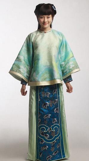 中国古代服装图片 古代女子服装特点图片