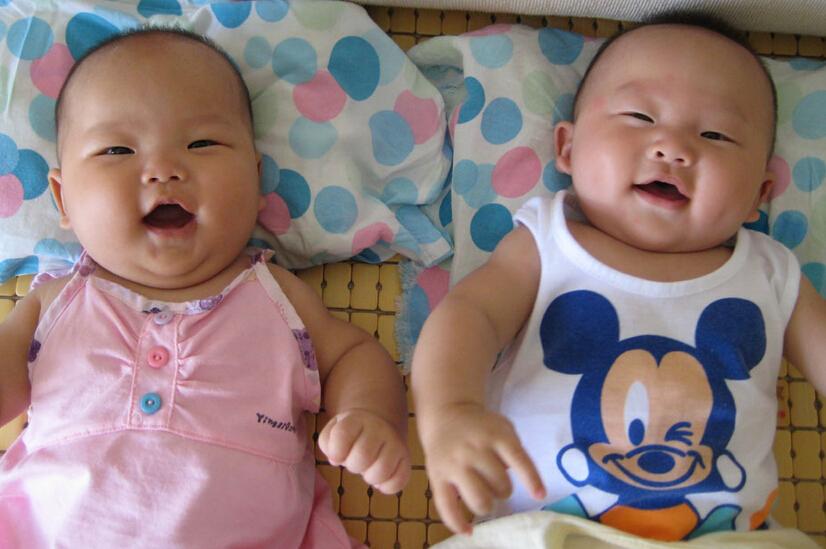 龙凤胎宝宝图片3