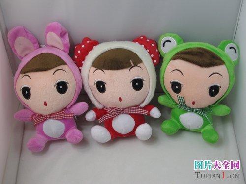 可爱毛绒娃娃图片4