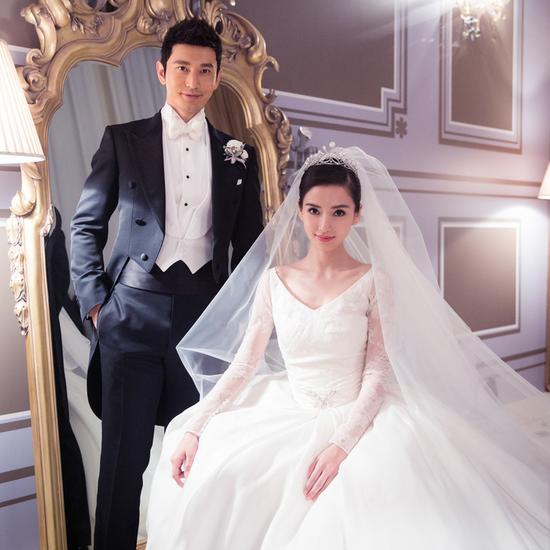 黄晓明baby婚纱照2