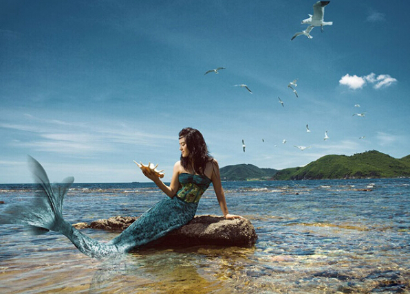 世界上最漂亮的美人鱼图片_美人鱼婚纱照_好看的图片_TuPian1