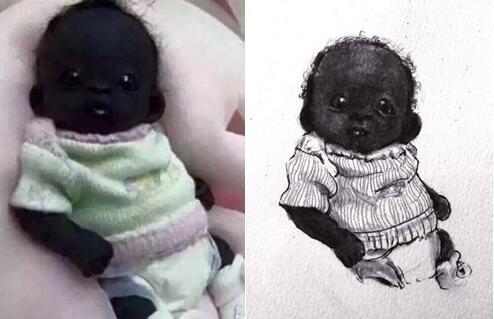 世界上最黑的小孩_世界上最黑的小孩,全身黝黑,一到晚上就隐身,看完笑